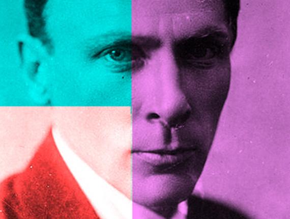 Mikhal Boulgakov (1891-1940), Ècrivain russe, en 1928.     RV-315976 ECRIVAIN RUSSE ROMAN PIECE DE THEATRE FANTASTIQUE CRITIQUE SATIRE mikhail Bulgakov