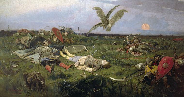 «После побоища Игоря Святославича с половцами» (1880 год)