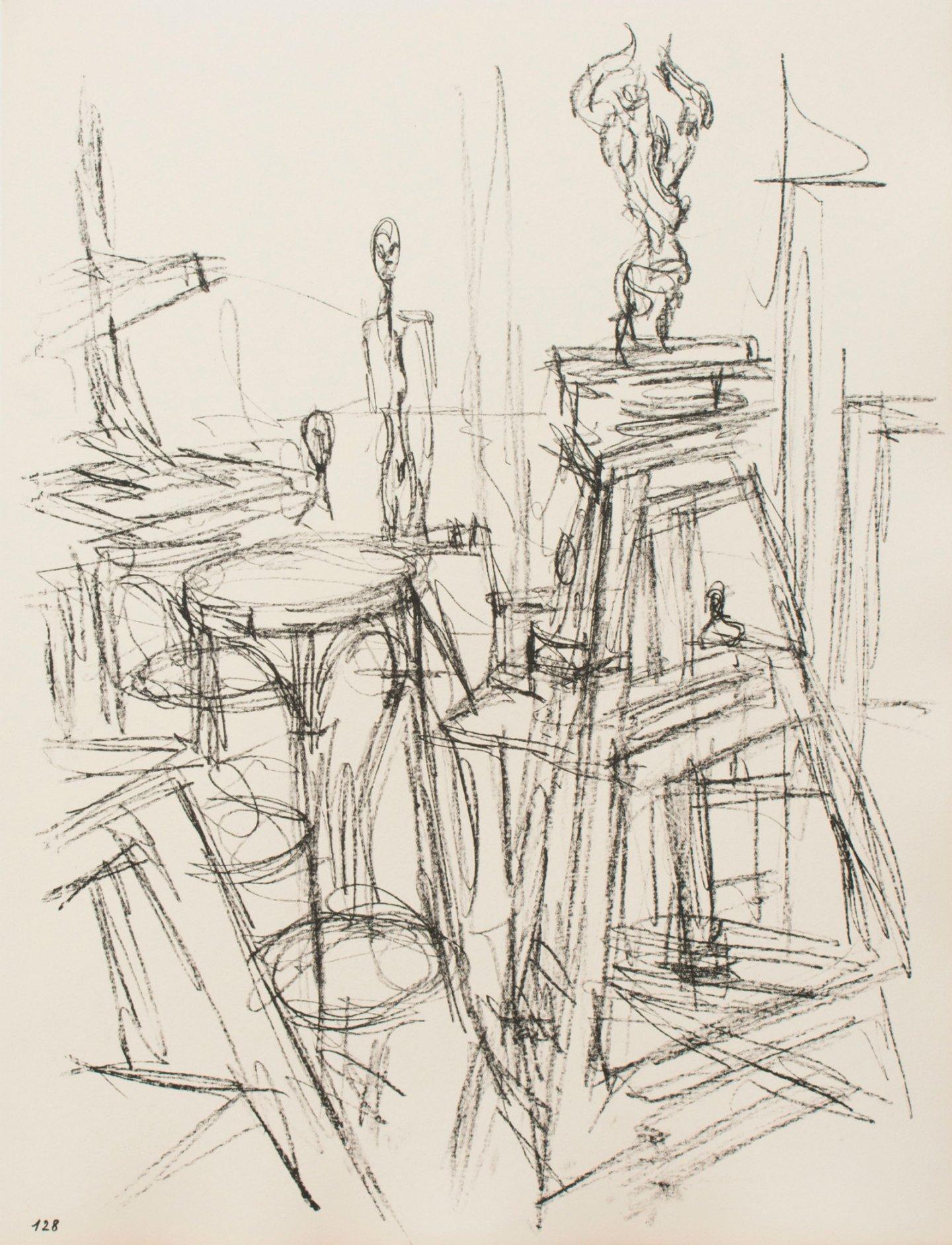 """""""Париж без границ"""" - livre d'artiste с описаниями любимых мест города от иллюстратора. Альберто Джакометти"""